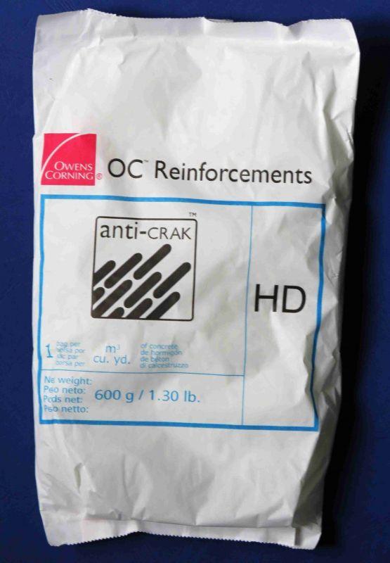 Anti-Crak® HD 12 mm - alkalivzdorná sekaná vlákna proti smršťovacím trhlinám
